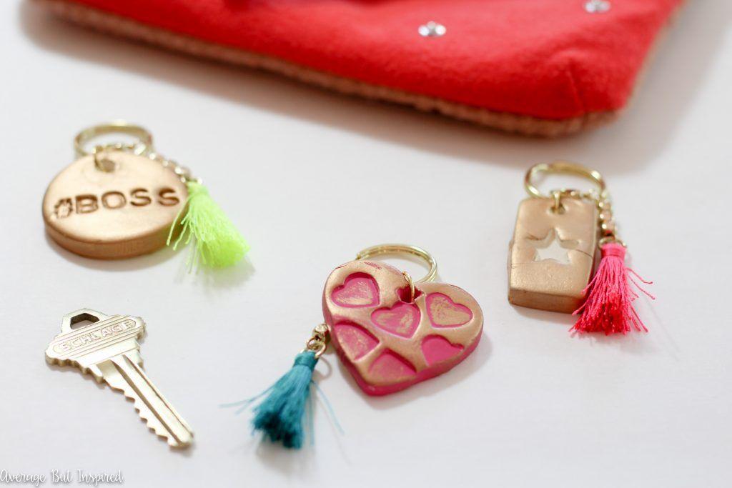 Air Dry Clay Keychains