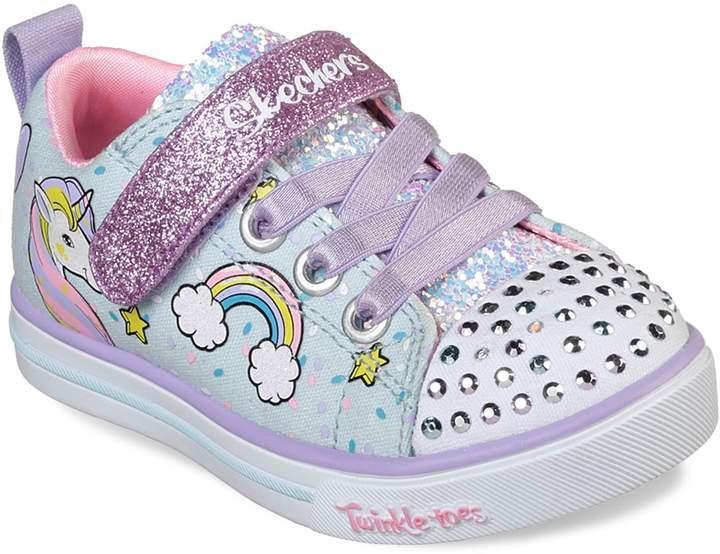 Skechers Twinkle Toes Shuffles Sparkle Lite Toddler Girls