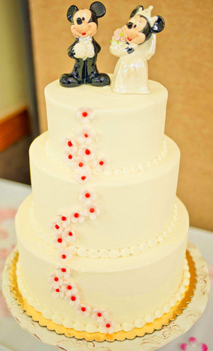disney wedding cake: Disney weddings are always simple because the ...