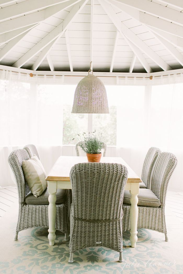 Outdoor Living | Beautiful decor ideas and how to define your deck ...