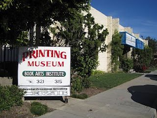Behind the Scenes at Stuart Ng Books: Printing Museum 'LA Printers Fair' 2011 (WITH PICTURES)