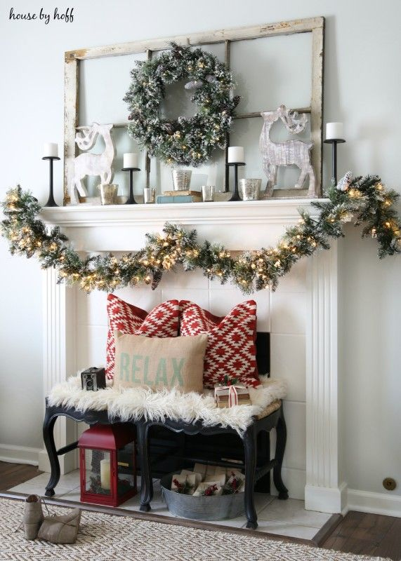 Diy Christmas Mantel And Decor Ideas Pinterest Best Pinterest