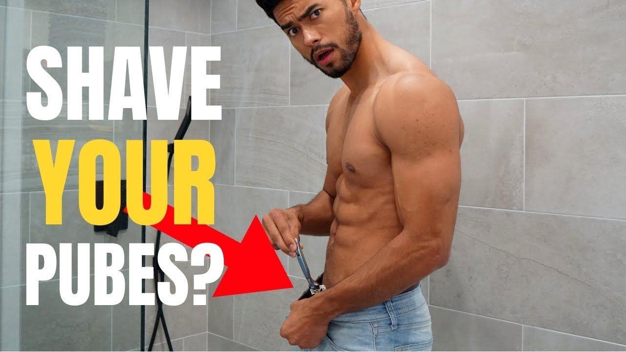 should men shave their pubes