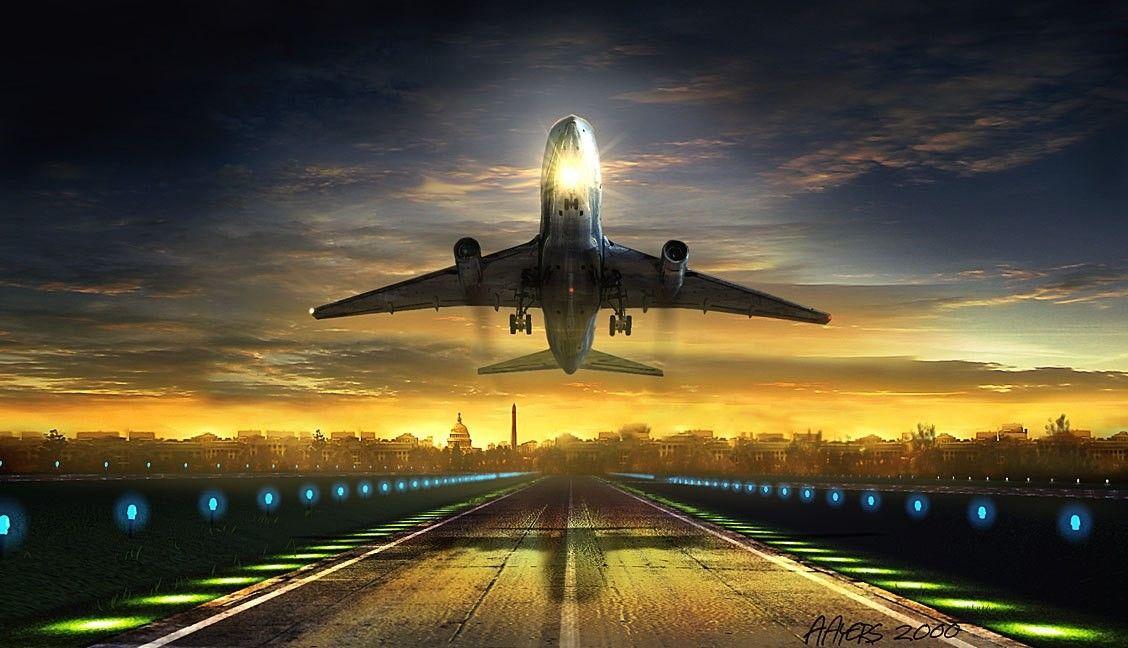 взлетающий самолет фото красивые картинки гуппи пузырьки это