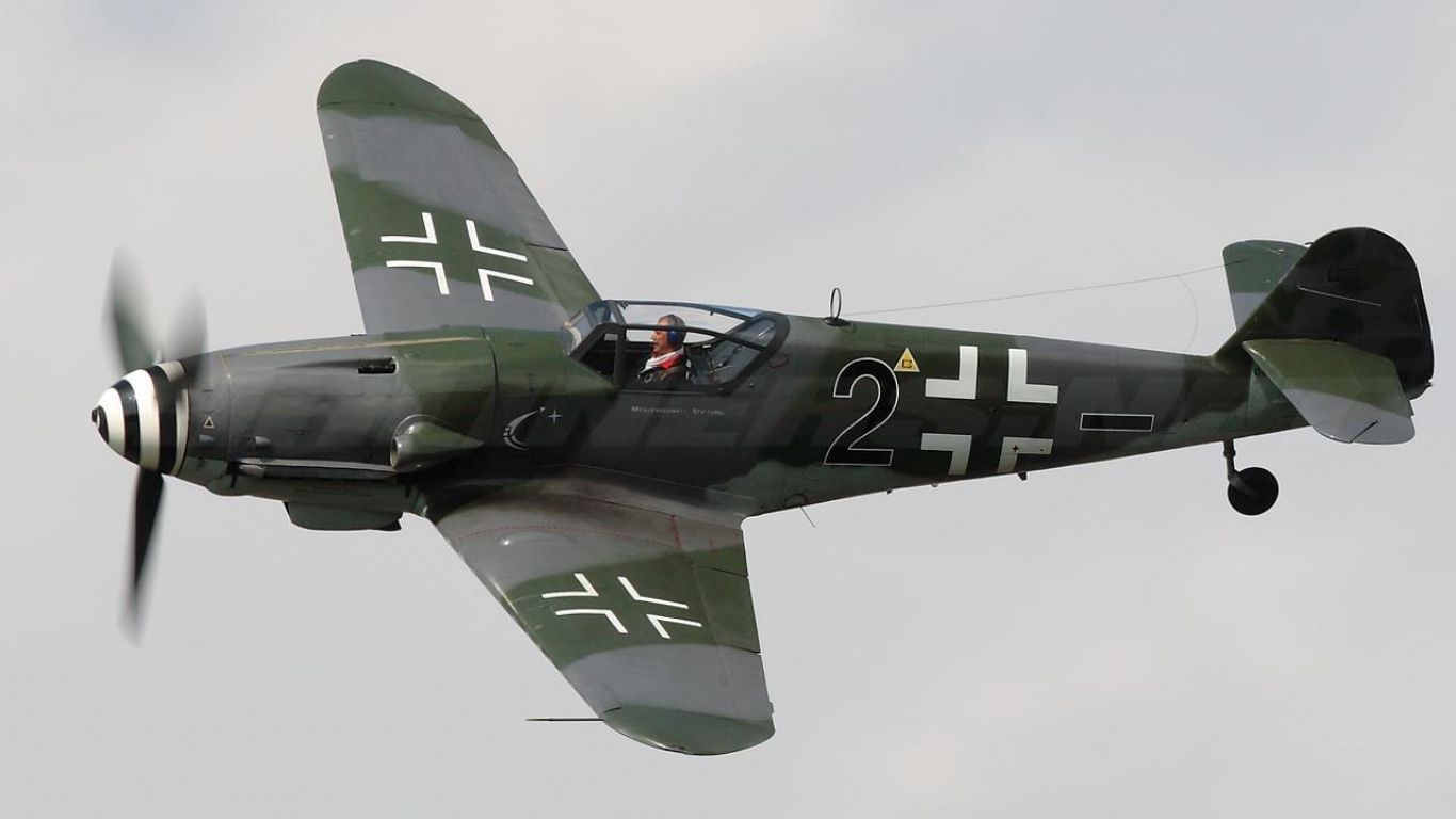 A restored Me 109 G-10 with   Erla Haube   cockpit canopy and & A restored Me 109 G-10 with