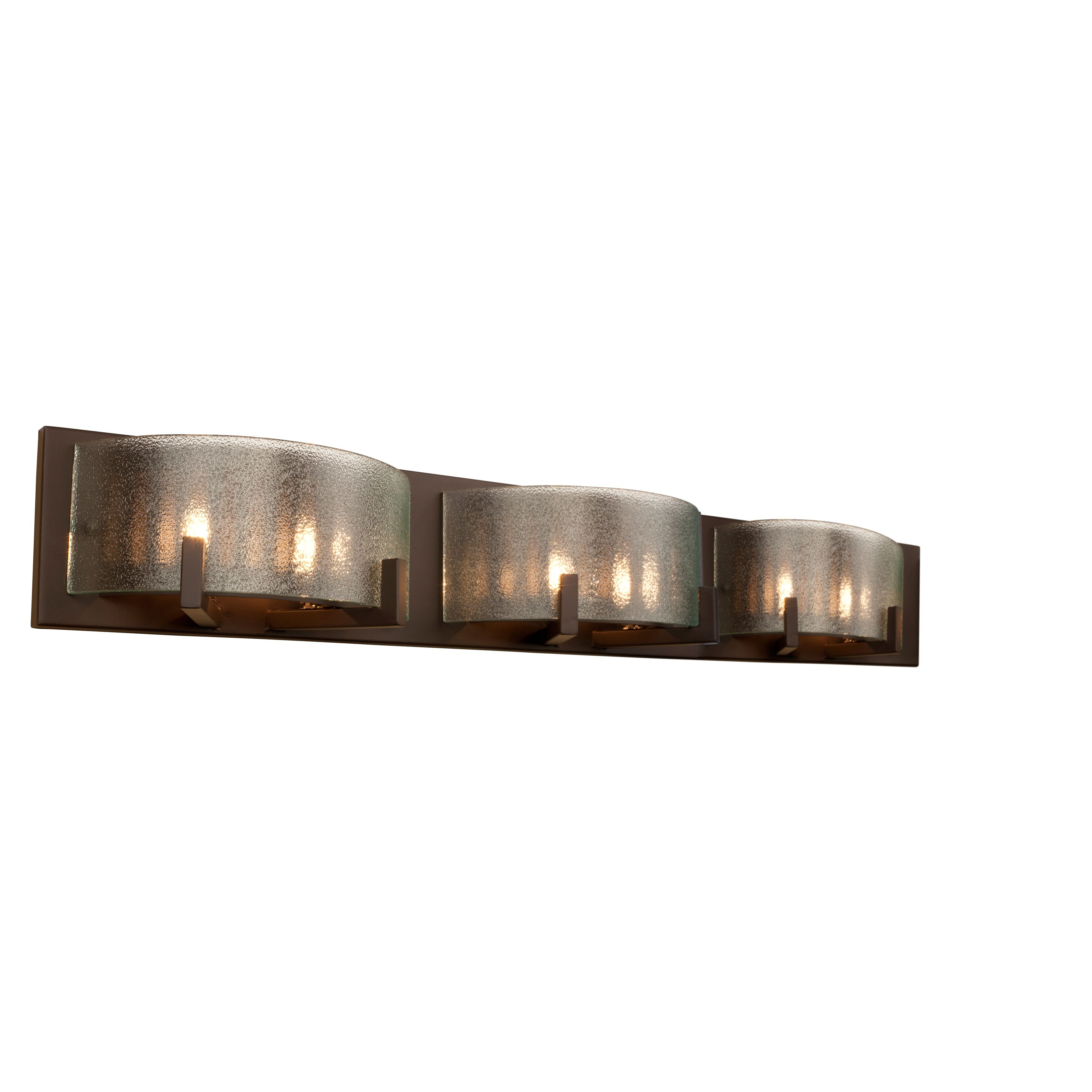 Give your bathroom a modern twist with this six-light vanity fixture ...