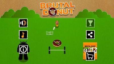 Game News Brutal Donut Game by Brutal Corp (Xavier Guiter