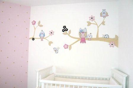 Quartos de Bebê - Paredes Decoradas | Helena | Pinterest | Manicuras ...