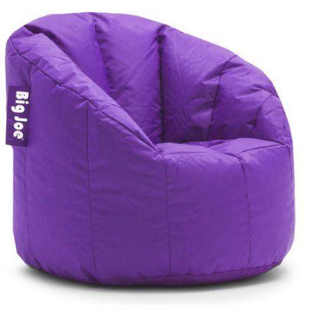 Big Joe Milano Bean Bag Chair Multiple Colors Purple Bean Bag