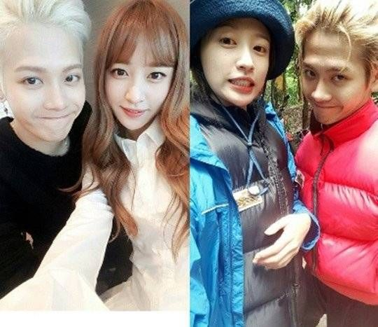 EXID's Hani reveals her and GOT7 Jackson's bare faces