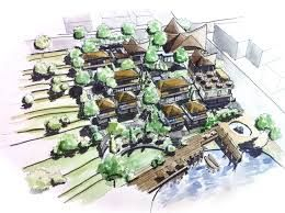 Image result for resort design on contour | Resort | Garden