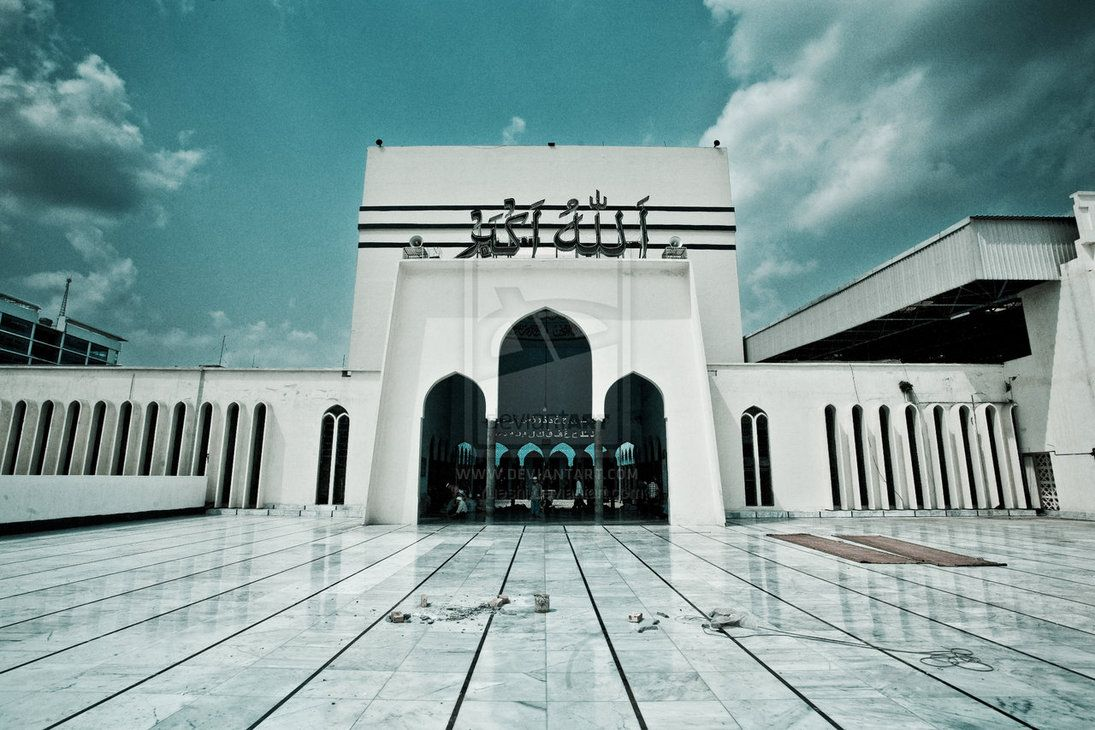 Baitul Mukarram mosque, Dhaka, Bangladesh | Dhaka, Mosque, Bangladesh travel