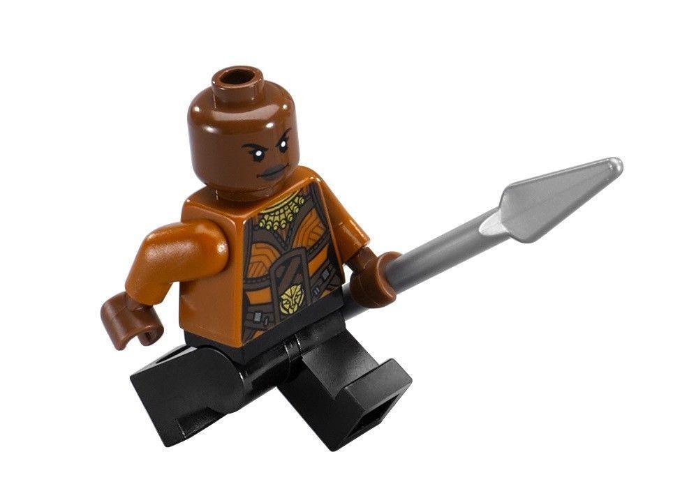 "Okoye 76099 NEW LEGO Marvel Super Heroes /""Rhino Face-Off/"" Minifig"