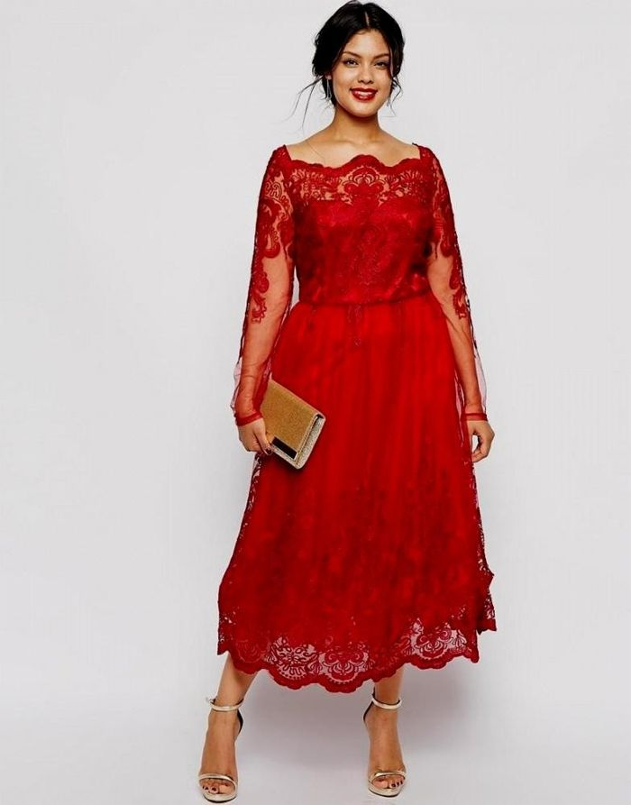 496256ab9d Cheap Plus Size Red Dresses With Long Sleeve | Fashion | Plus size ...