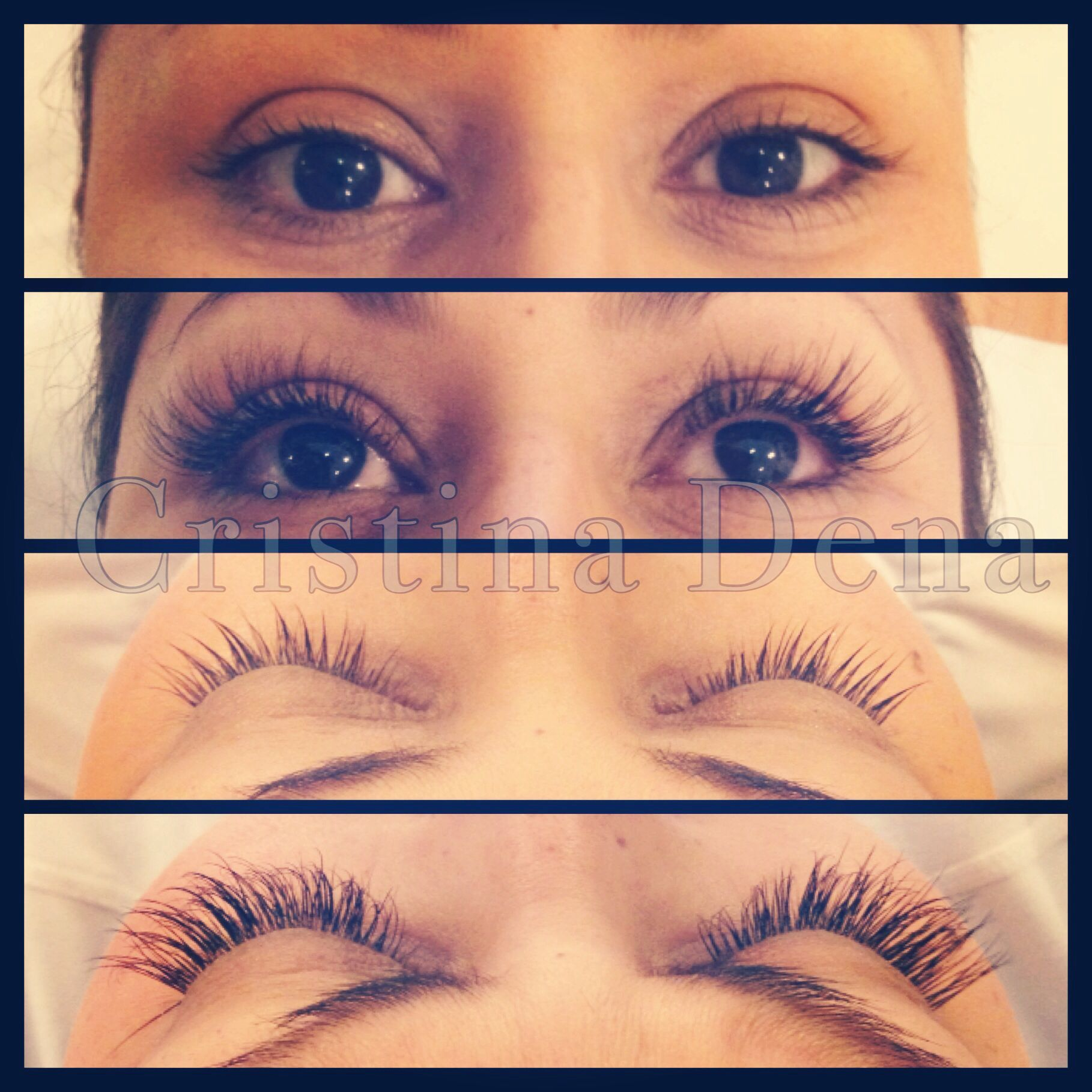 Eyelash extensions before and after i am getting this