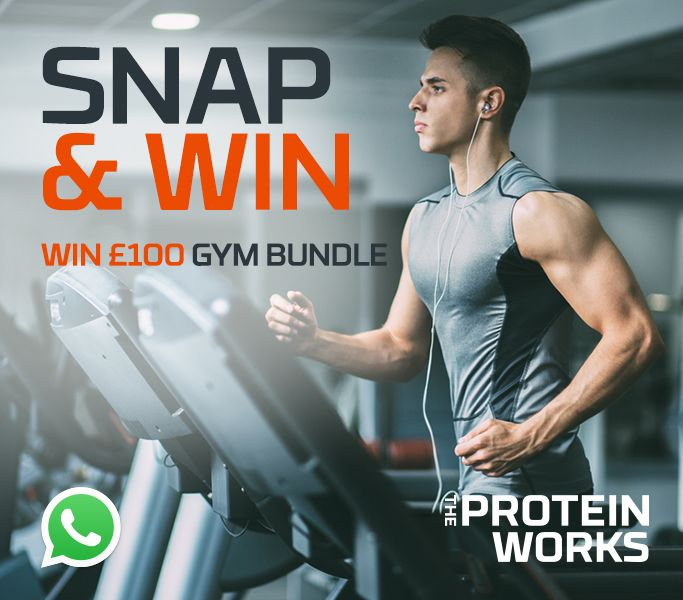 Competition time! Save +447397974767 as TPW to your contacts & send us a gym selfie via WhatsApp for the chance to WIN a gym bundle worth £100! http://bit.ly/2jGxp0E