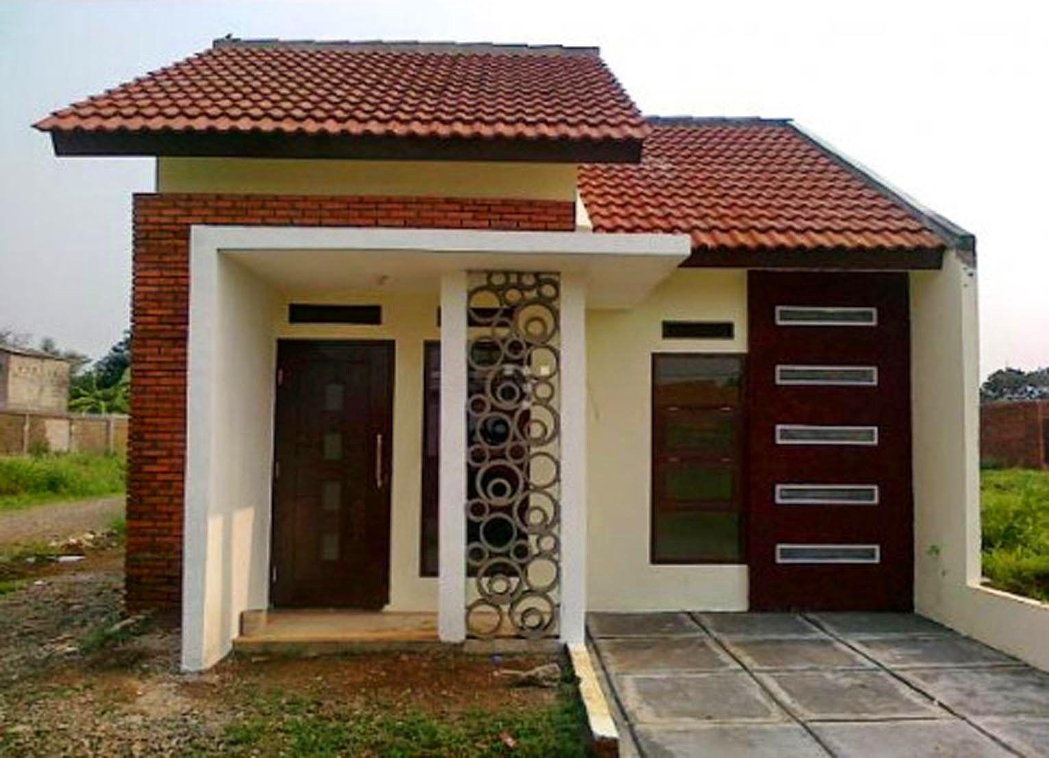 Example Of Type 45 Home Minimalist Rumah Minimalis Desain Rumah Desain Exterior Rumah