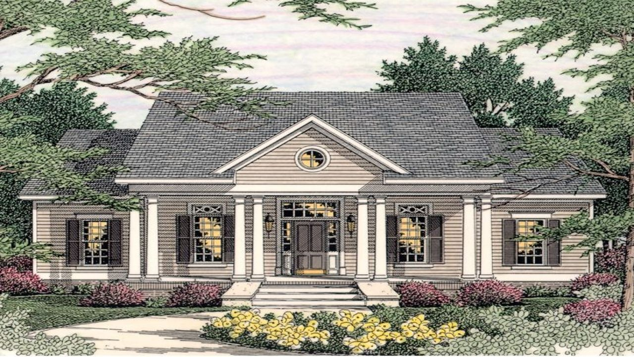 one story plantation style house plans design ideas hawaiian ...