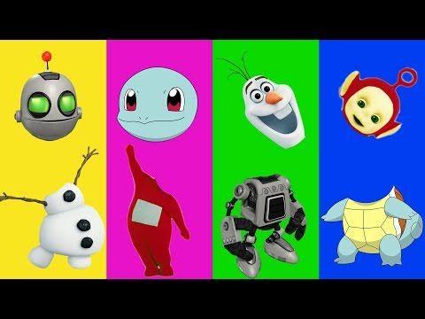 Wrong Heads Disney Frozen Pokemon Teletubbies Ratchet and ...