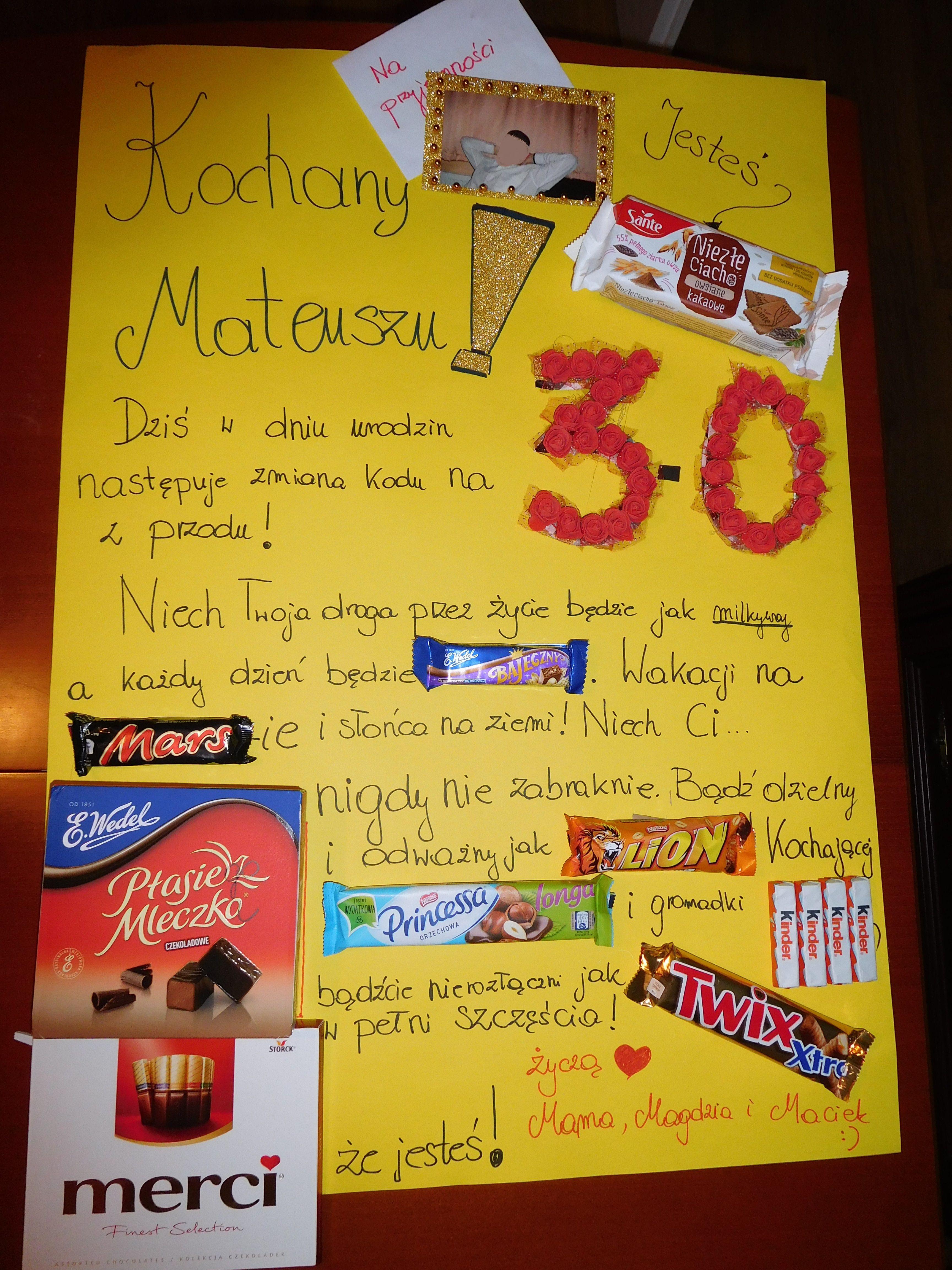 Kartka Urodzinowa Zyczenia Urodzinowe Pomysl Na Impreze 30