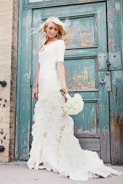wedding gowns | the white dress | Pinterest | Wedding dress, Gowns ...
