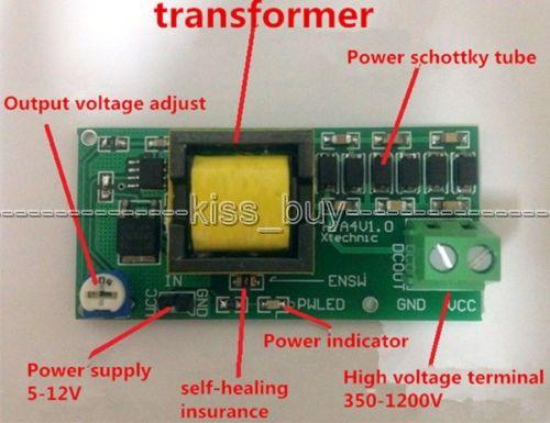 High Voltage Dc Dc Boost Converter Input 3v 5v Step Up To Output 300v 1200v 400v 900v 1000v Adjustable Power Psu Module Affiliate