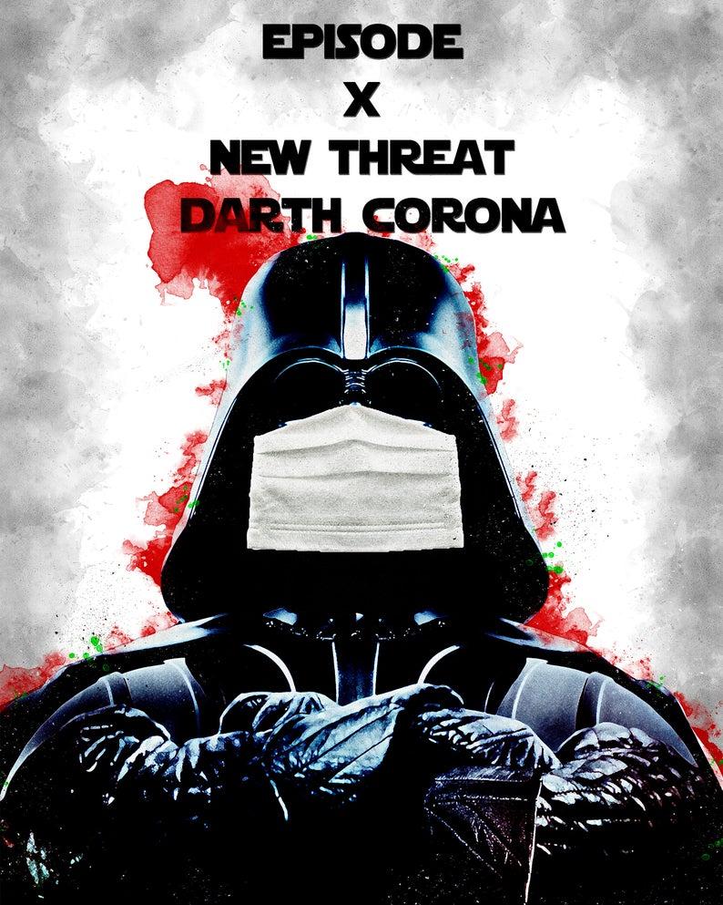 star wars poster darth vader poster