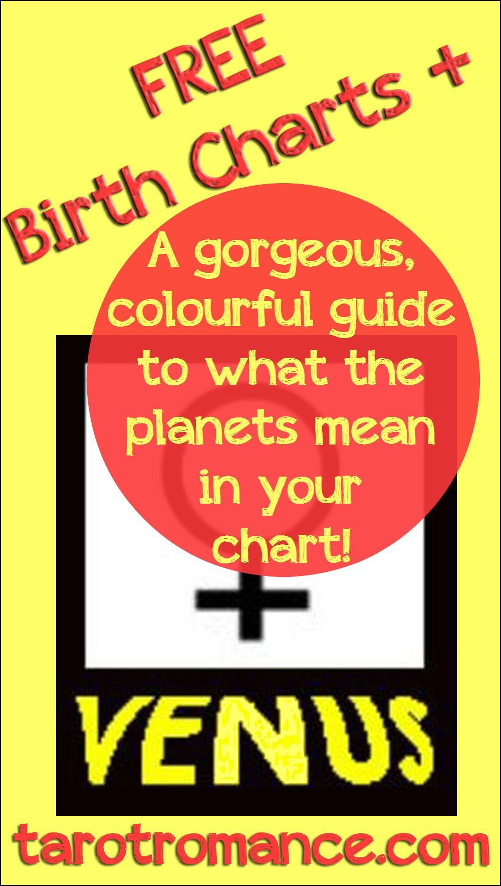 Grab Your Free Charts Plus Your Free Guide To What The Planets Mean