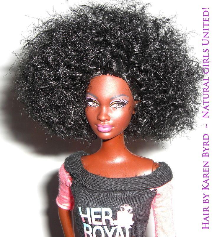 Natural Hair dolls. I die.