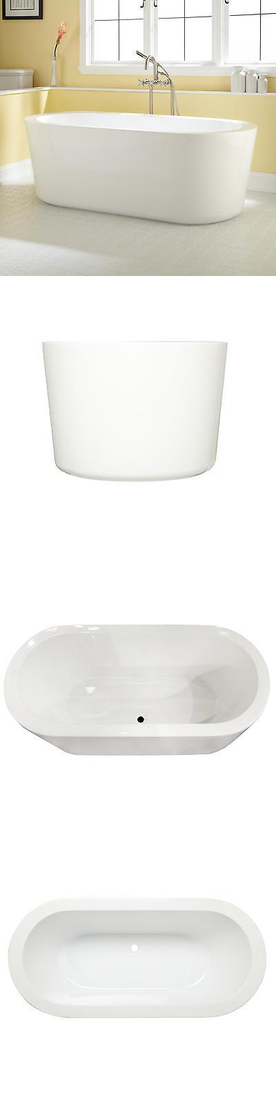 Bathtubs 42025: Signature Hardware Marlon Acrylic Freestanding Tub ...