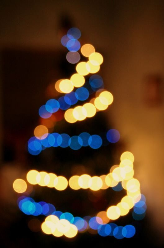 An example of the creative application of bokeh foto christmas tree sciox Images