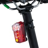 RedLite Mega attaches to any seat post with the included tube mount