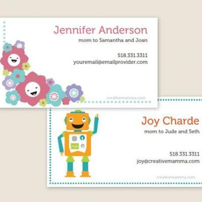 Free Printable Customizable Play Date Cards Mom Business Cards Printable Business Cards Printable Cards