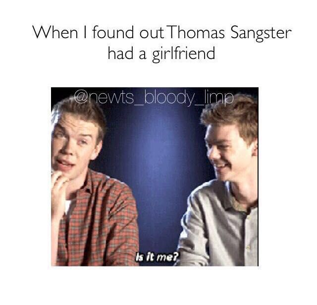 Thomas Brodie Sangster and Dylan O'Brien Imagines - Thomas ...