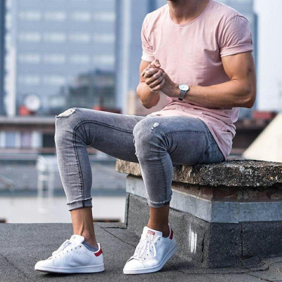 фото мужчин в джинсовых кедах девушки отменная