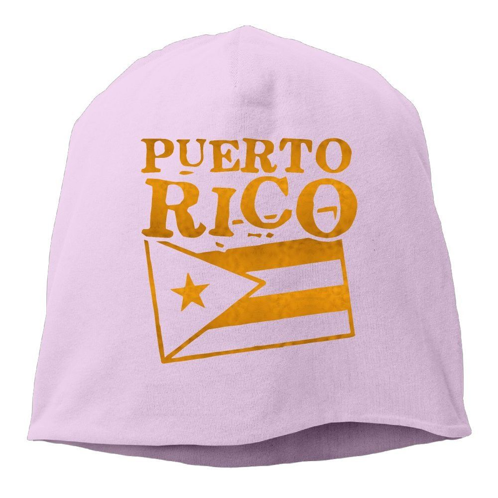 Men Women Puerto Rico Porto Riko Skull Hat Beanie Cap Winter Knit Hat Cap