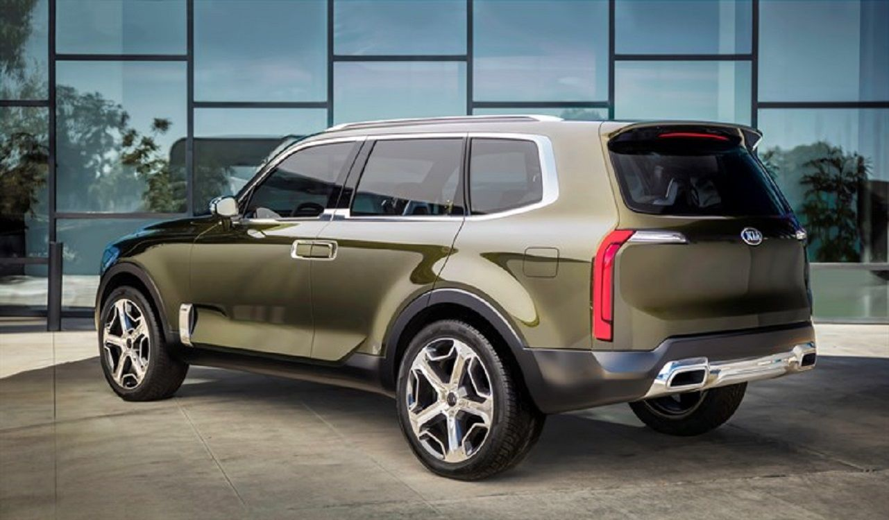 2017 Kia Telluride Rear All Things Automotive Pinterest Cars