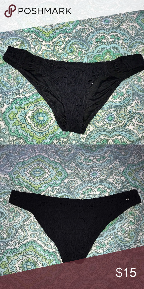 Volcom Bikini Bottoms Crotchet detail, with knots right at the hip Volcom Swim Bikinis
