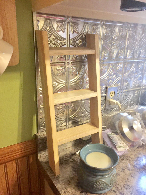 Country Farm Kitchen Decor Tea Towel Ladder Kitchen Towel Display Farmhouse Kitchen Decor
