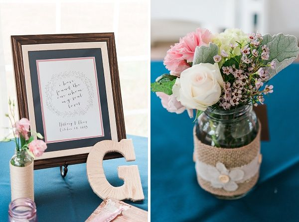 A blush, navy, and lace pastel wedding held at Dellwood Plantation and captured by Kathryn Ivy Photography.