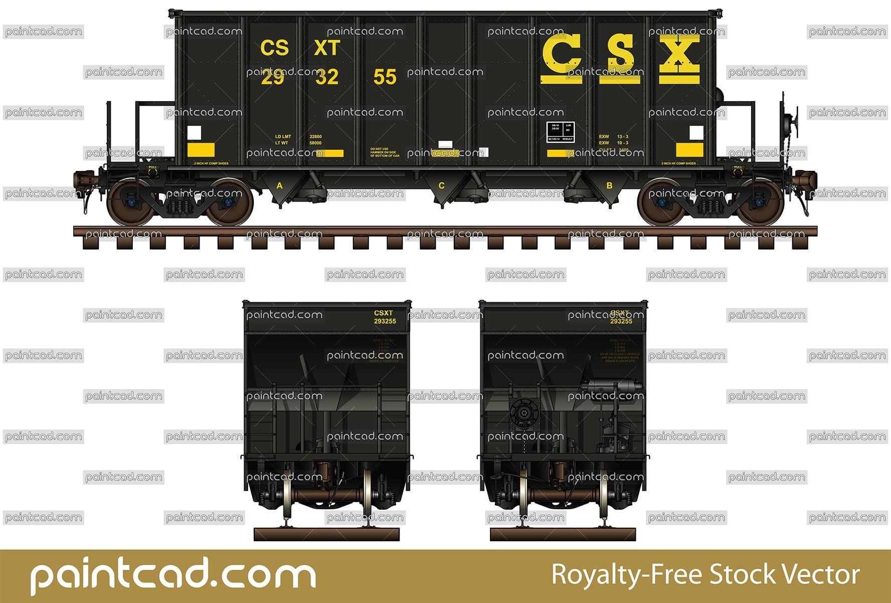 CSX Transportation Railroad Logo Train Trailer Hitch Cover