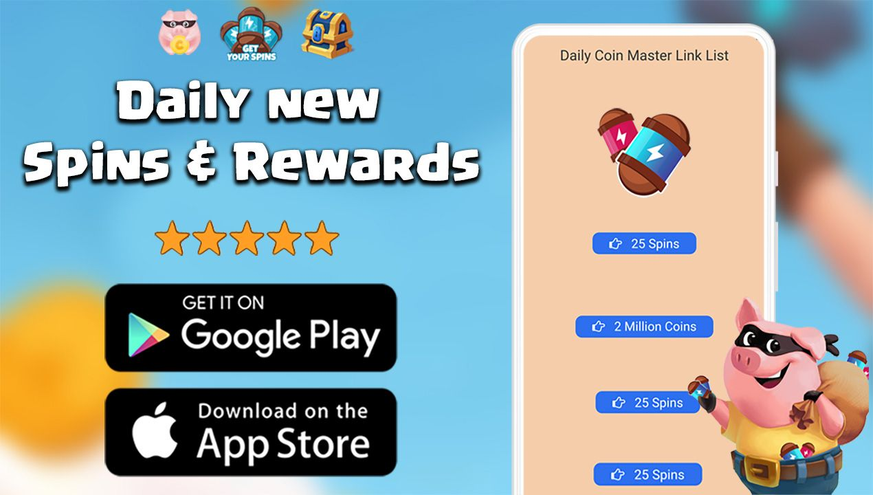 Daily coin master free spins for ios and android in 2020