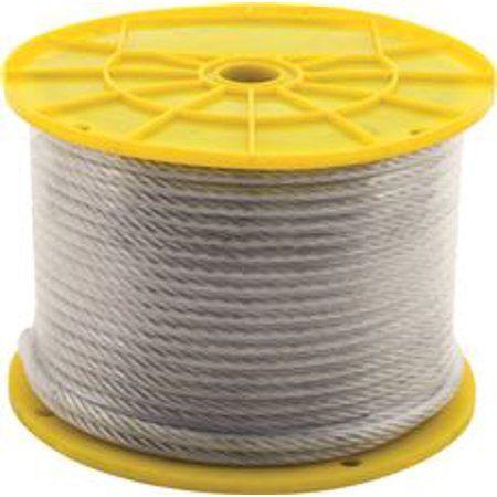 Toys Pvc Coat Galvanized Steel Cable Reel