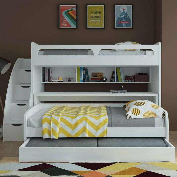 Found It At Wayfair Bel Mondo Twin Bunk Bed With Trundle
