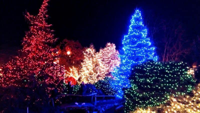 Christmas Display at Peddler's Village in Lahaska (With