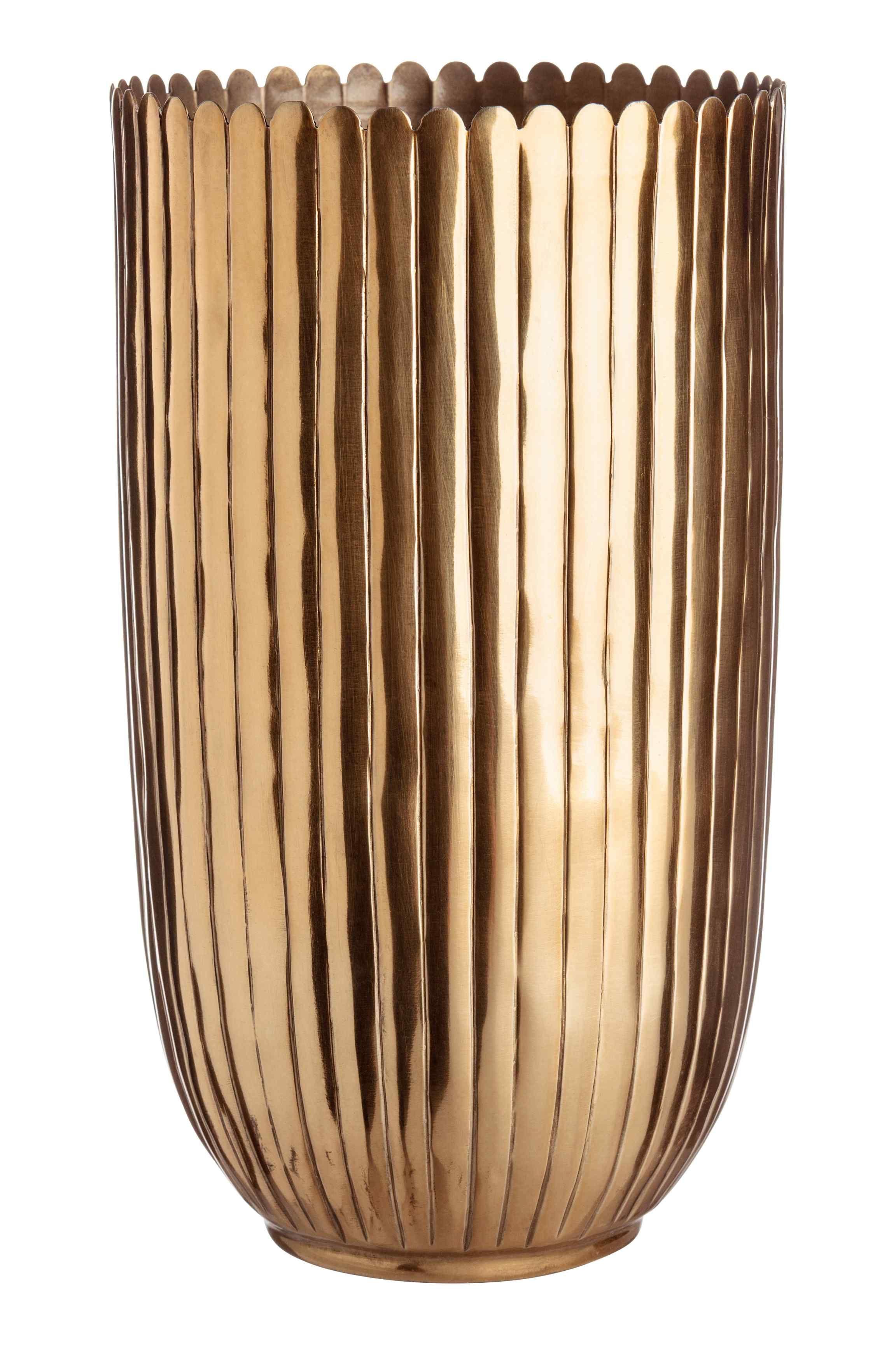 Tall Metal Vase In 2020 Metal Vase H M Home Vase