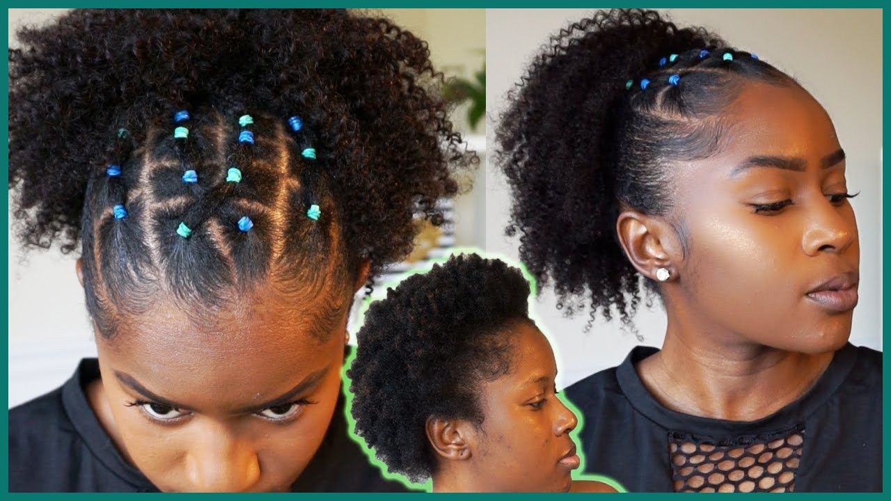 24+ Populer Natural Hairstyle With Rubber Bands in 2020 ...