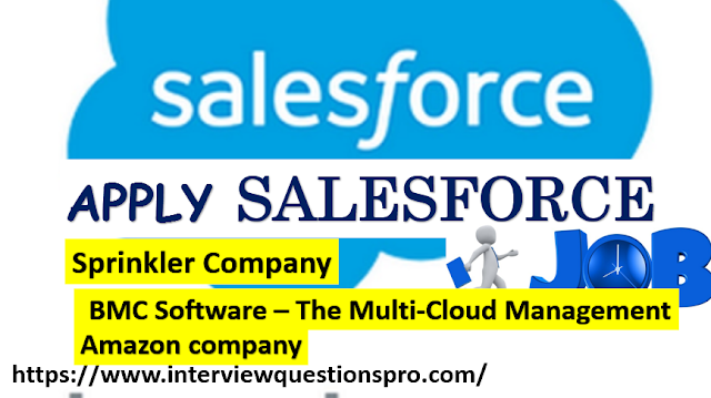 Apply Salesforce Jobs Today How To Apply Interview Questions