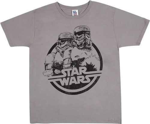 stormtrooper star wars logo t shirt t shirt. Black Bedroom Furniture Sets. Home Design Ideas