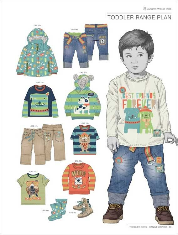Style Right Baby Trend Book - A/W 2017/2018 | 平面圖 ...